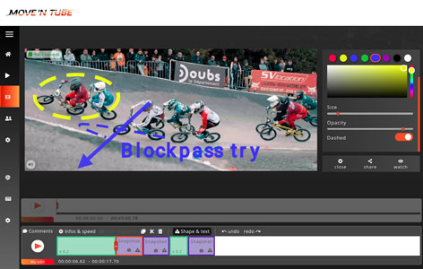sport on movetube app Bmx